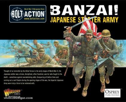 Banzai! Bolt Action Japanese Starter Army