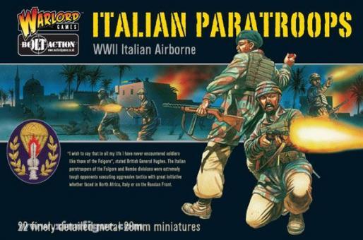 Italienische Fallschirmjäger