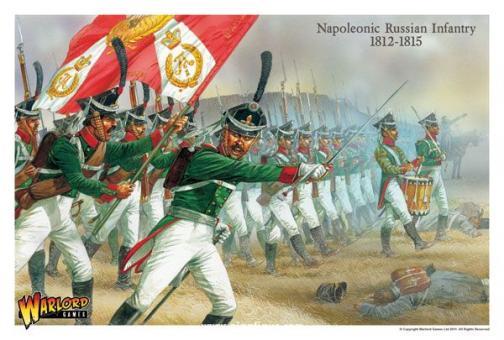 Späte Russische Napoleonische Infanterie