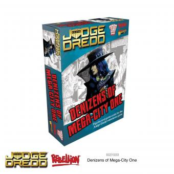 Denizens of Mega City One - Judge Dredd