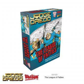 The League of Fatties - Judge Dredd