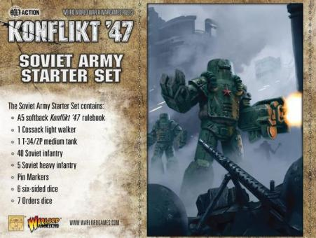 Konflikt '47 - Soviet Army Starter Set
