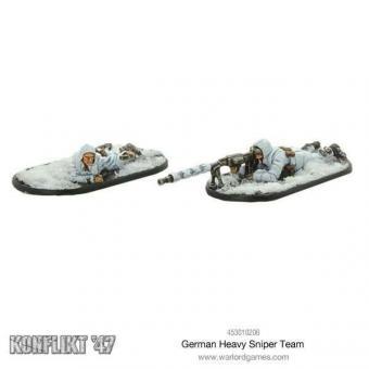 Deutscher schwerer Scharfschützen Trupp