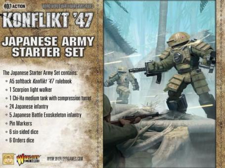 Japanische Arme Starter Set - Konflikt 47