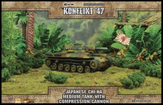 Chi-Ha Panzer mit Compression Turm - Konflikt 47