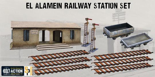 Al Alamein Bahnhofs Set