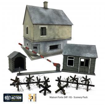 Maison Forte MF-10 Bunker-Set