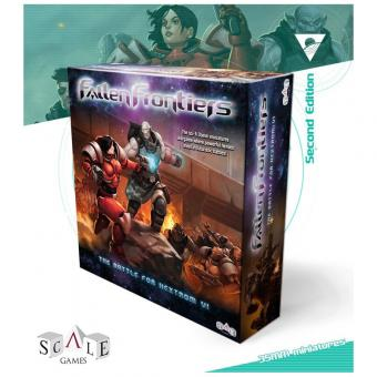"Fallen Frontiers Starter Box ""The Battle of Hextrom VI"" 2. Edition"
