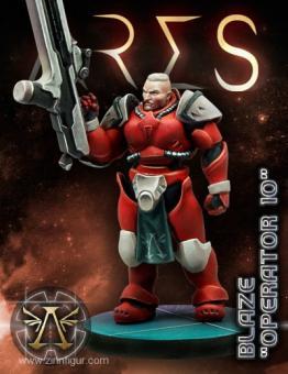 """Ares Hero Blaze """"Operator 10"""""""