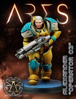 "Ares Hero Alexander ""Operation 03"""