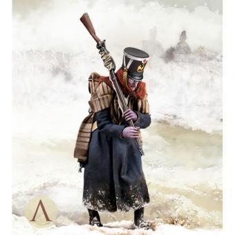 """Französischer Soldat """"Schlacht an der Beresina 1812"""""""