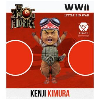 Kenji Kimura - Japanischer Pilot