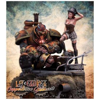 Liz Coppercotton & George Steelheart
