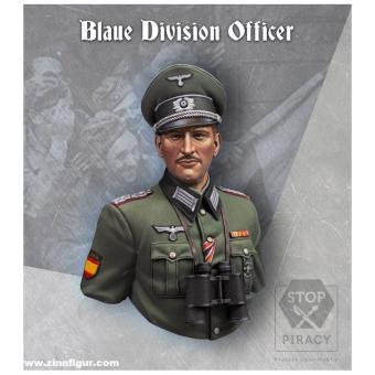 Offizier - Blaue Division