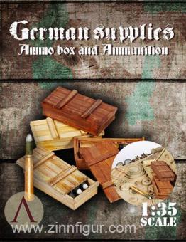 Deutsche Munitionskisten und Munition Set 2