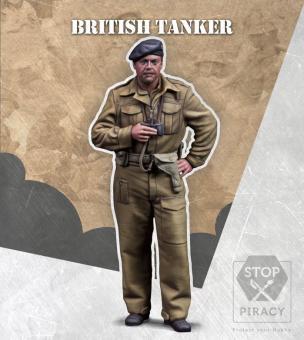 Britischer Panzersoldat