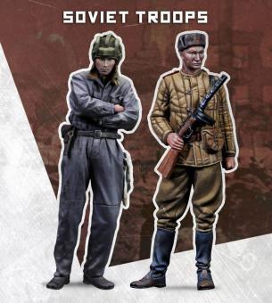 Sowjetische Soldaten