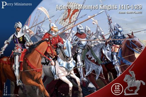 Ritter zu Pferd bei Agincourt