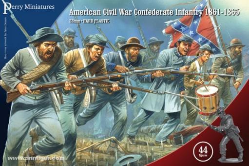 Konföderierte Infanterie 1861-65