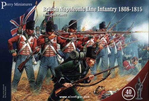 Britische Linieninfanterie 1808-1815