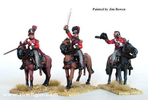 Britische Oberste zu Pferd
