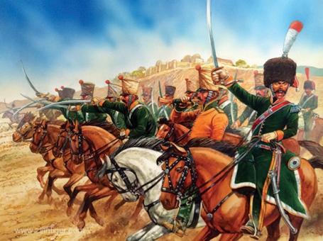 Französische Linien-Chasseure zu Pferd - 1808-15