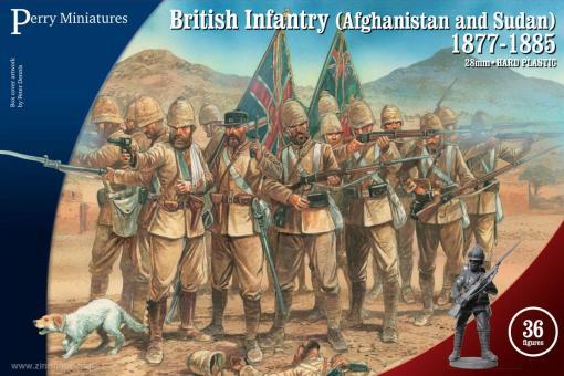 British Infantry (Afghanistan & Sudan) - 1877-1885