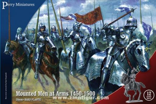 Men-at-Arms zu Pferd 1450-1500
