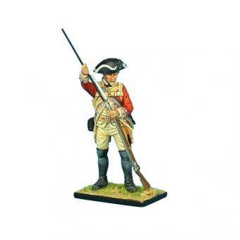 Britischer Musketier, ladend