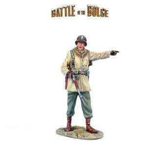 US Infanterie-Offizier mit M1A1 Karabiner - Winter