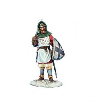 Soldat mit Schwert und Schild - Deutscher Orden