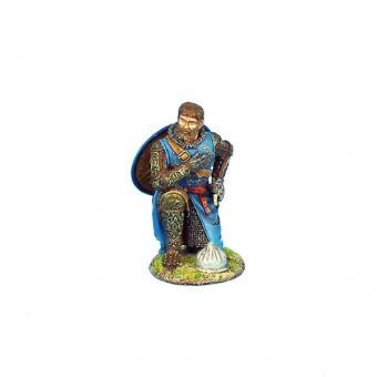 Französischer Ritter, kniend