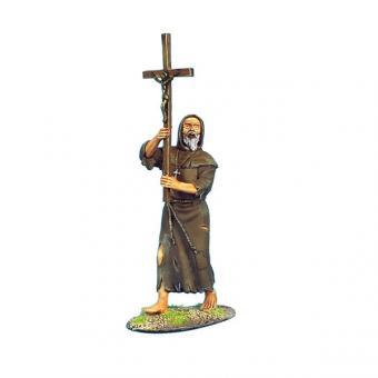 Mönch mit Kruzifix
