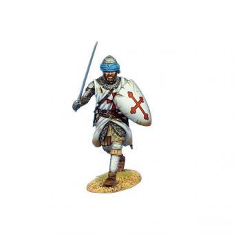 Tempelritter mit Schwert - vorgehend