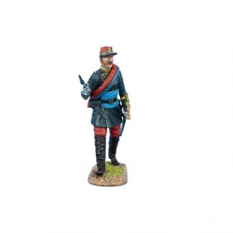 French Line Infantry Officer with Black Jacket - 1870-71