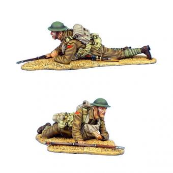 British Infantry Crawling with MLM Mk.II