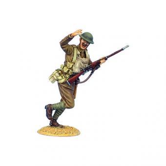 Britischer Unteroffizier mit MLM Mk.II - stürmend