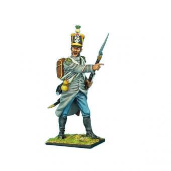 Voltigeur Sergeant im Mantel