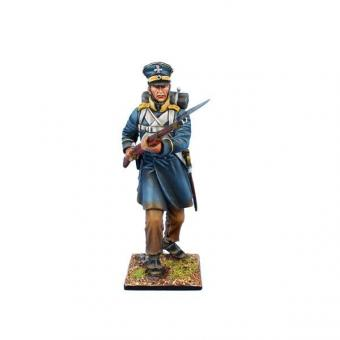 Musketier, vorgehend - 3. Schlesische Landwehr