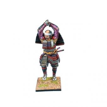 Samurai Krieger mit Katana