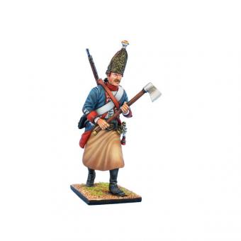 Preußischer Grenadier-Sappeur - vorgehend