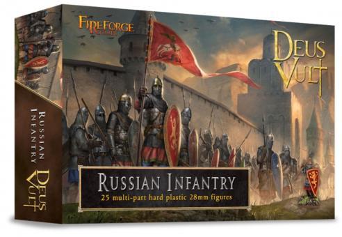 Russische Infanterie