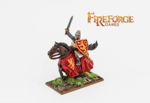 Leader on Barded Horse (Lion)