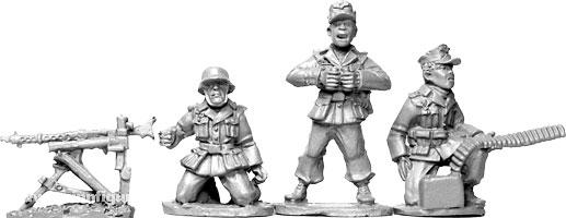 Afrika Korps HMG Trupp