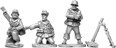 Afrika Korps Mörser-Trupp