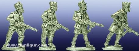 Italienische Soldaten mit SMG