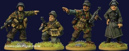 Deutsche Infanterie Kommandofiguren