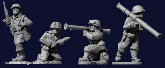 US Infanteristen mit Bazooka