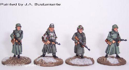 Deutsche Soldaten mit MP44 (Winter)
