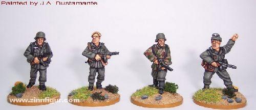 Deutsche Infanteristen mit PPSH41